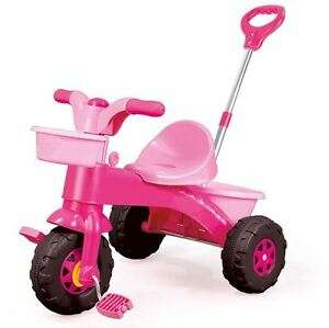 Kids My First Trike Boys Girls Ride On Bike Parent Handle Push Along Tricycle Pink - £29.99 @ daily-deals-ltd / eBay