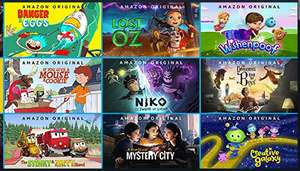 Free Selection of Prime children's cartoons on Amazon - Available to All Amazon Account Holders