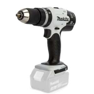 Makita DHP453ZW White Combi Drill Driver LXT 18V Body £39 + £3.99 delivery at tools4trade