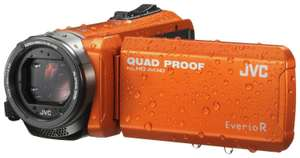 Refurbished JVC GZ-R405D Full HD Quad Proof Camcorder - Orange £199.49 Argos on eBay