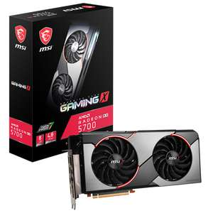 MSI RADEON RX 5700 GAMING X 8GB GDDR6 PCI-EXPRESS GPU - £309.89 Delivered @ Overclockers