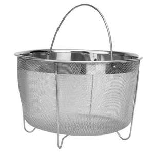 Maison & White Stainless Steel Steamer Basket £5.99 + Free Delivery With Code @ Roov