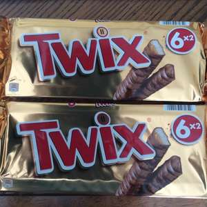 Twix 50g 6x2 multipacks only 99p @ Home Bargains (Redditch)