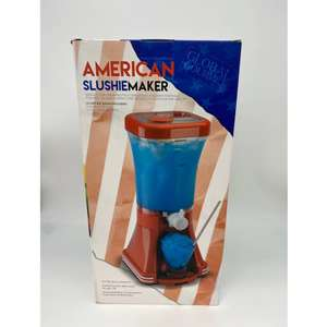 Global Gourmet American Style Slush Puppy Machine Slushie Maker £24.99 with code Plus Free Delivery from I Want One of Those