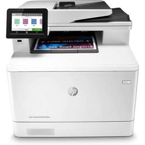 HP Color LaserJet Pro MFP M479fnw A4 Colour Multifunction (Print/Scan/Copy/Fax) Laser Printer £284.98 @ Printerland (£154.98 after cashback)
