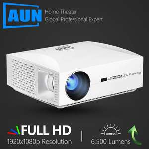 AUN F30 Full HD Projector (Full 1080p, 6500 Lumens, EU Shipping) £124.05 Delivered using coupon / RU code @ AliExpress / AUN Official Store