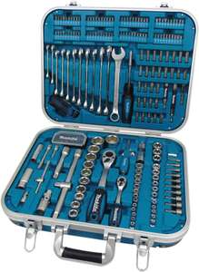 Makita 90352 P-90532 Home Repair Kit, Blue/Black/Silver, Large, Set of 227 Pieces 50% off - £97.99 @ Amazon