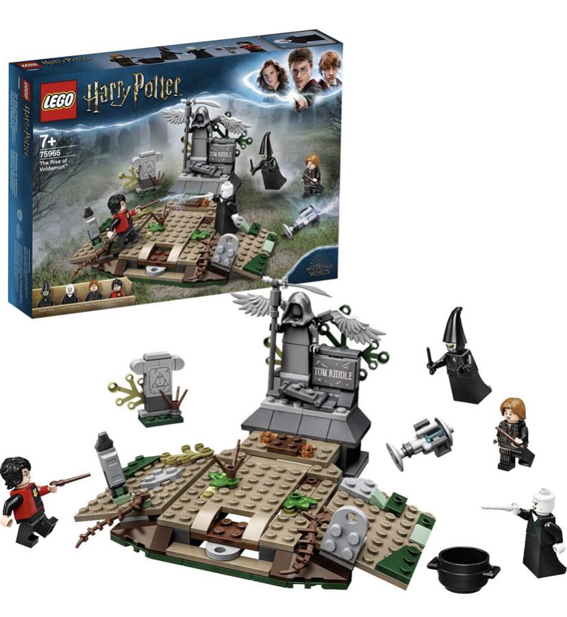 Lego Harry Potter The Rise of Voldemort - £14 Prime / +£4.49 non Prime @ Amazon