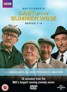 Last Of The Summer Wine Series 1-4 DVD - £6.99 @ dvdbayuk_outlet / eBay
