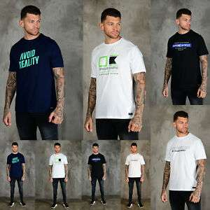 Human Race Mens Designer Fashion Cotton Graphic Printed Crew Neck T-Shirt - £2.99 @ eBay / 883police_outlet