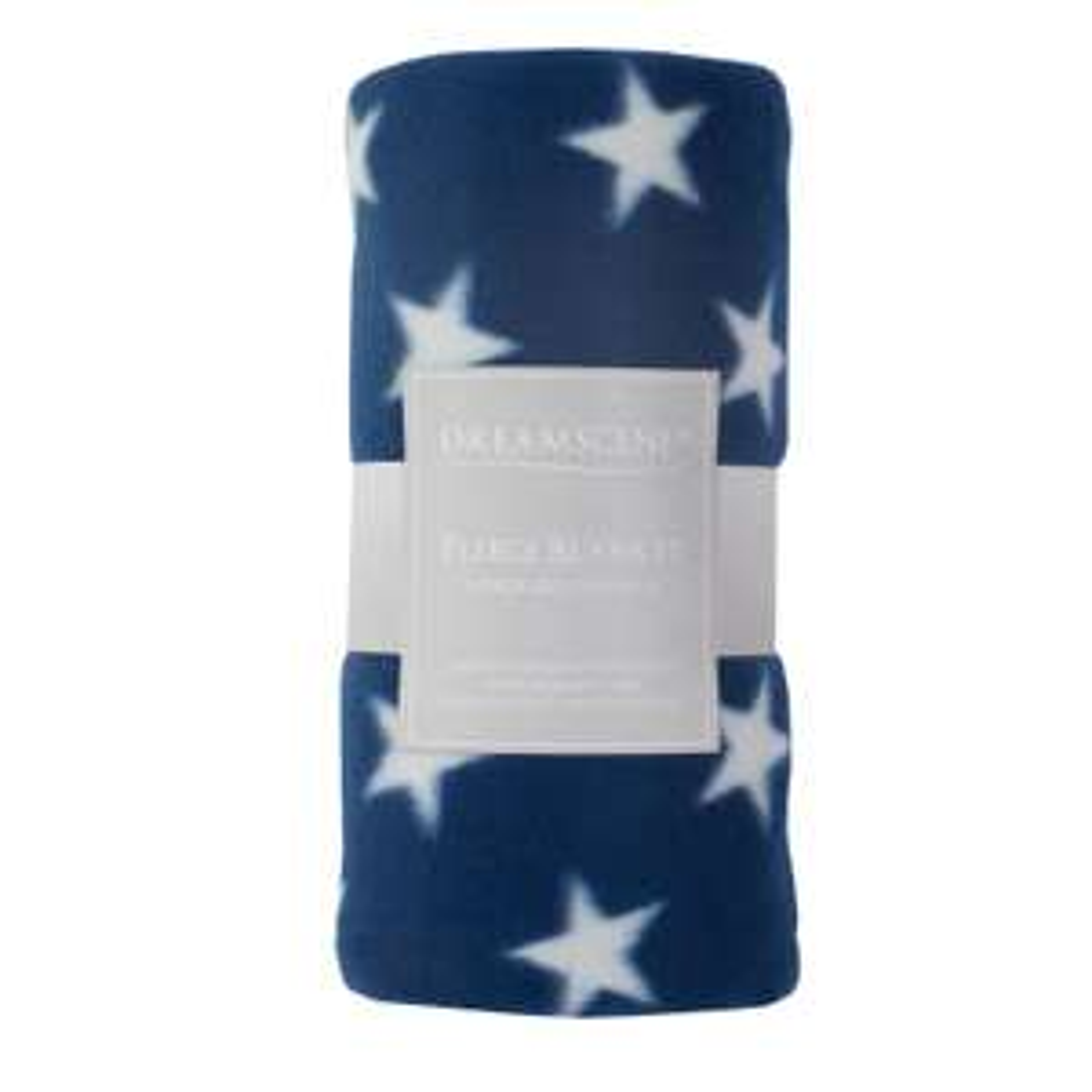 Dreamscene Stars Throw Over Bed Warm Soft Blanket Sofa Winter Fleece Navy Blue - £5.99 @ onlinehomeshop / eBay