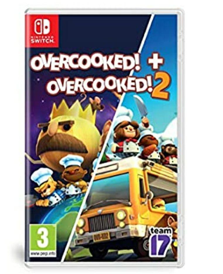 Overcooked and Overcooked 2 on Nintendo Switch - £24.99 @ Amazon