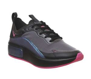 Nike Air Max Dia Black Laser Fushia Trainers Womens Size 5 £33.50 delivered @ Offspring