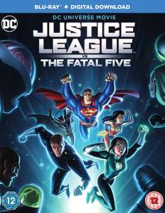 Justice League vs. The Fatal Five (Blu-ray) - £4.99 @ theentertainmentstore / eBay