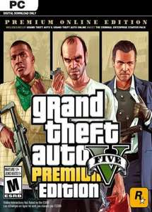 Grand Theft Auto Premium Online Edition PC £10.24 using code (PayPal fee incl) @ Eneba