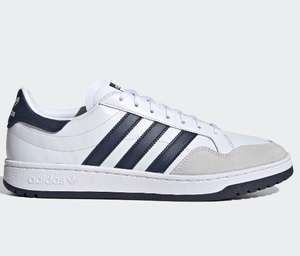 Adidas Team Court Trainers now £25 sizes 4 up to 11 White Blue & Red (delivery is £3.50) @ Office