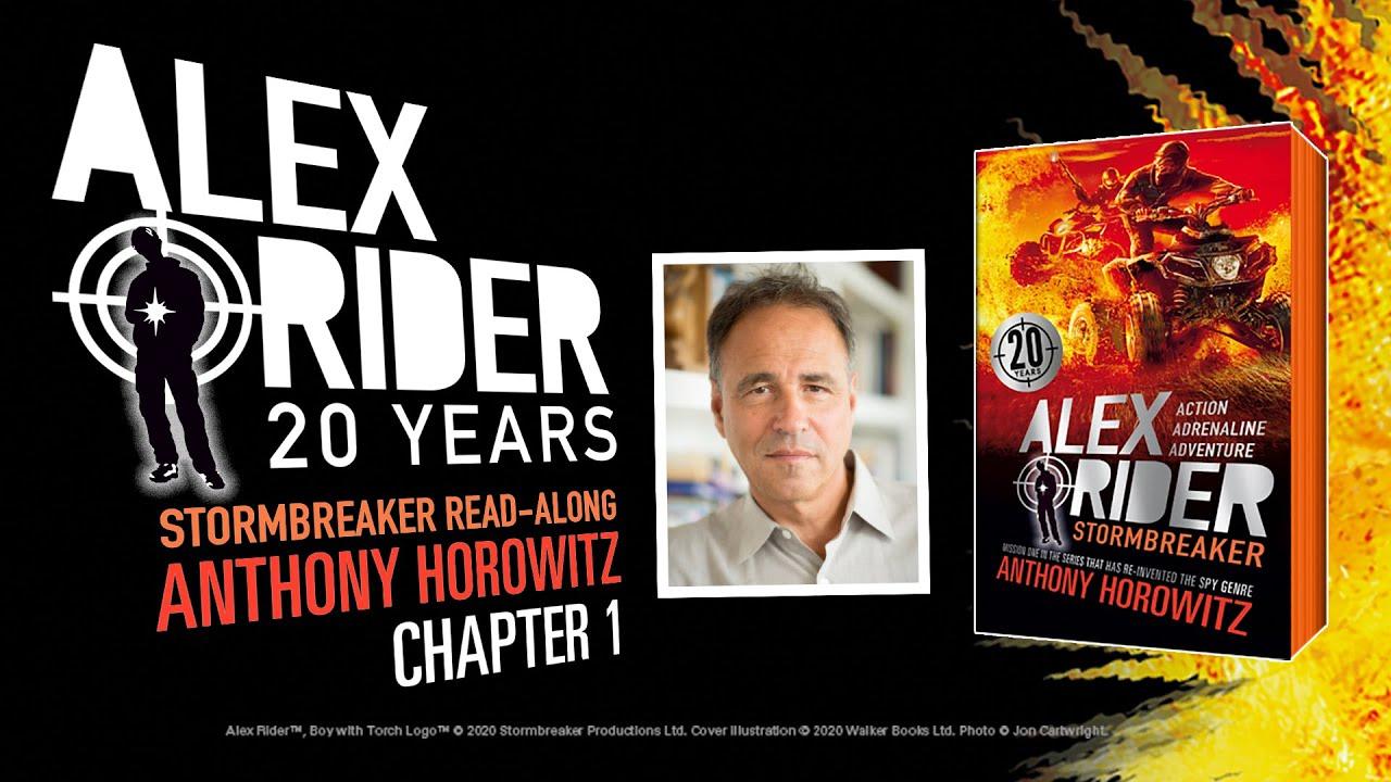Anthony Horowitz, free reading of Alex Rider stormbreaker