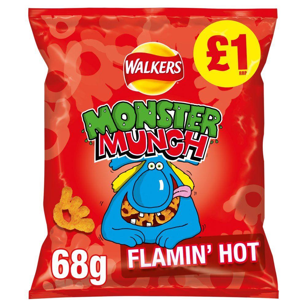 3 for £1 - Monster Munch 68g Heron Foods (Warrington)