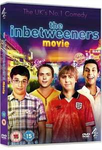 The Inbetweeners Movie DVD - Brand New - Fast and Free Delivery - £1.85 @ Stock Must Go / Ebay