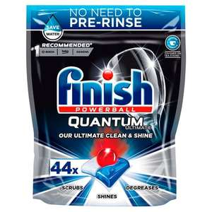 Finish Quantum ultimate dishwasher tablets 44 for £6 @ Tesco