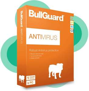 BullGuard Antivirus Latest Edition 1 Year - 3 User Licence for All Windows PC's £5.49 @ Laptop Outlet