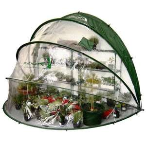 Horti Hood 90° Wall Mounted Folding Greenhouse £43.55 delivered @ Crafty Arts