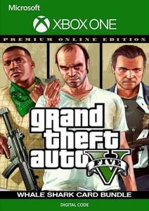 Grand Theft Auto V: Premium Online Edition & Whale Shark Card Bundle (Xbox One) - £17.99 @ CDKeys