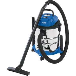 Draper 20L Wet & Dry Vacuum Cleaner 240V - £50.98 @ Toolstation (free delivery)