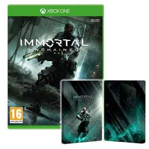 Immortal: Unchained & Limited Edition Steelbook (PS4 & XBox One) £9.95 delivered @ The Game Collection
