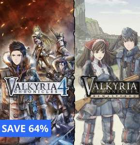 Valkyria Chronicles Remastered + Valkyria Chronicles 4 Bundle (PS4) £15.99 @ PlayStation store