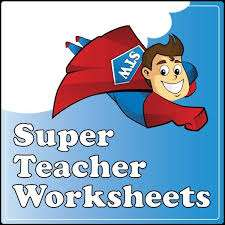 [Super Teacher Worksheets] 10000+ Free Printable (Maths, Science, Reading) ,lesson plans, learning games + more for Pre-School - Year 5