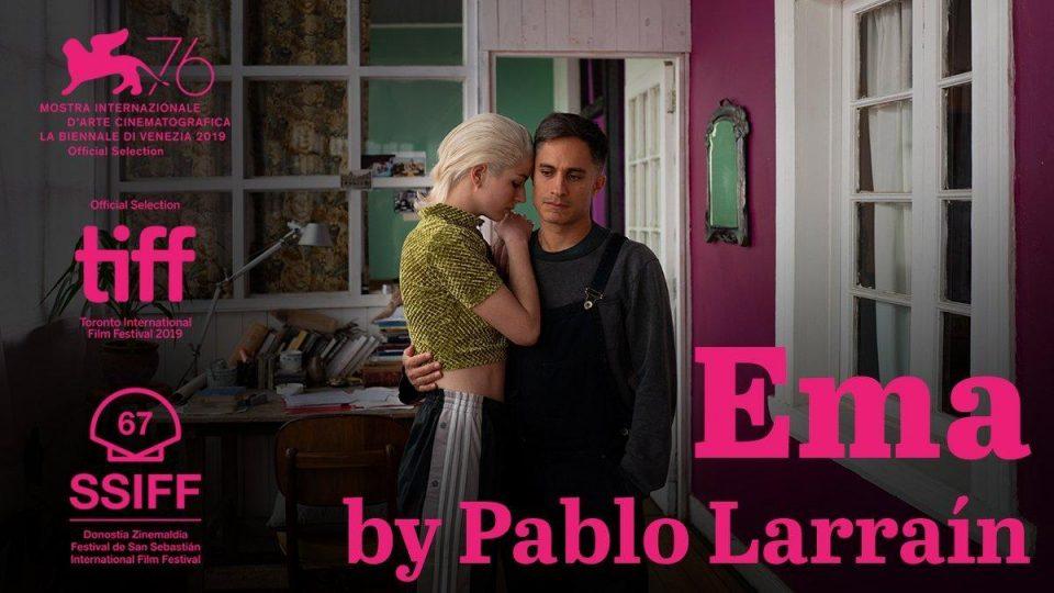MUBI Exclusive Free Screening of Pablo Larrain Ema. Showcases May 1st 2020 @ MUBI