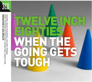 Twelve Inch Eighties: When The Going Gets Tough [3CD Compilation] - £2.35 delivered @ Amazon Prime (NP + £2.99)