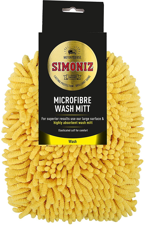 Simoniz Microfibre Wash Mitt £2 (+ £4.49 Non Prime) @ Amazon