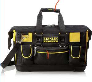 Stanley FatMax Open Mouth Rigid Tool Bag 50cm (20in) at Amazon for £15 Prime (+£4.49 non Prime)
