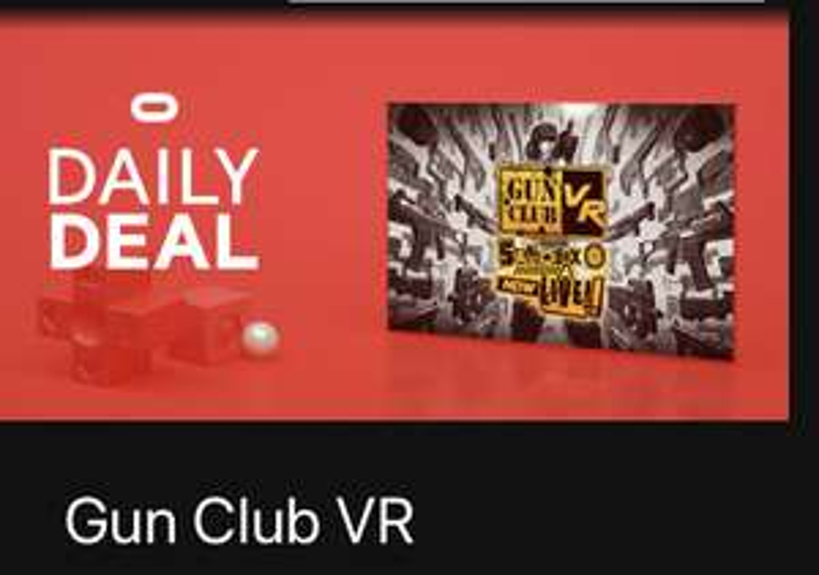 Gun Club VR Oculus Quest at Oculus for £13.49