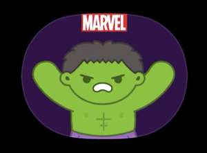 Marvel Heroes iOS Stickers. Free at the Apple App Store