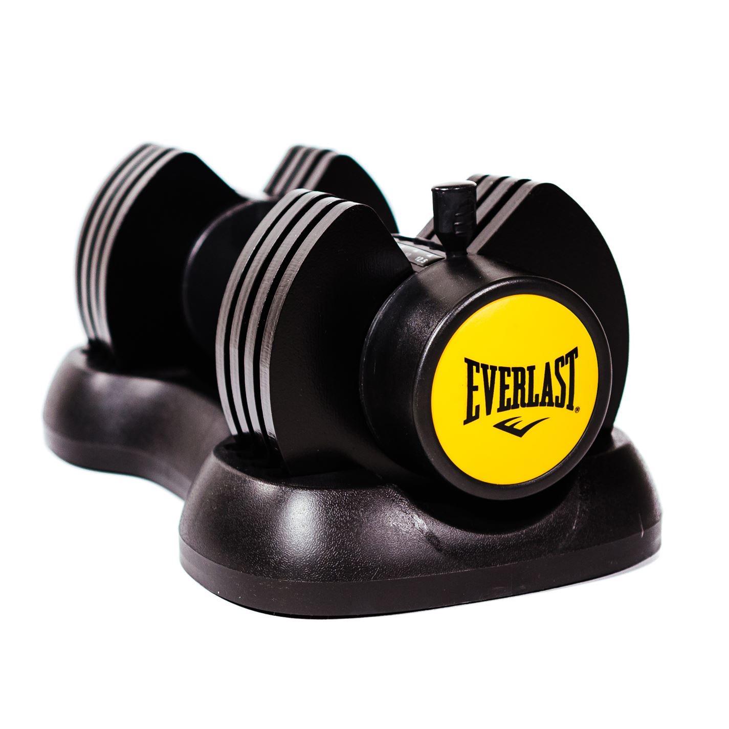 EVERLAST 12.5kg Adjustable Dumbbell £39.99 + £4.99 delivery at Sports Direct