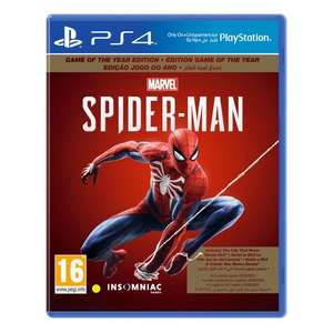 Spider-Man (Game of the Year Edition) [PS4] - £21.50 Delivered @ Coolshop