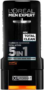 L'Oreal Men Expert Total Clean Shower Gel £1.80 Delivered at Amazon Prime / £6.29 Non Prime