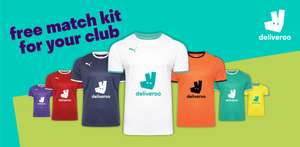 Free Puma Football Kit from Deliveroo