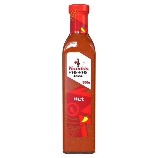 Nando's Peri-Peri Sauce Hot 500g £3 @ Iceland