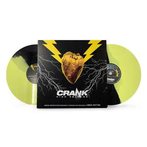Mike Patton: Crank High Voltage Soundtrack 2xLP - £16.19 using code + £1.99 delivery / free for Red Carpet members @ Zavvi
