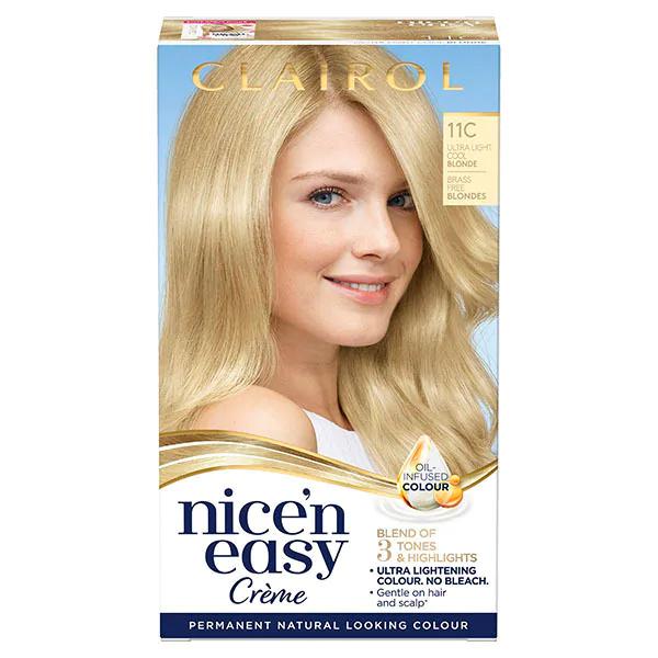 Nice'n Easy Blonde Permanent Hair Dye 65p + £3 delivery @ Superdrug