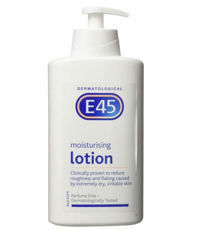 E45 Dermatological Moisturising Lotion, 500 ml - £4.94 Prime + £4.49 (non prime) @ Amazon