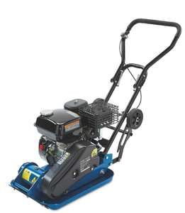Scheppach 4-stroke 6.5HP Petrol Engine Plate Compactor + 3 Year Warranty - £296.94 delivered @ Aldi