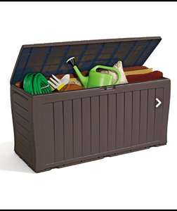 Keter Marvel Plus 270L Plastic Garden Storage Box - Brown - £29 + £6 delivery @ Homebase