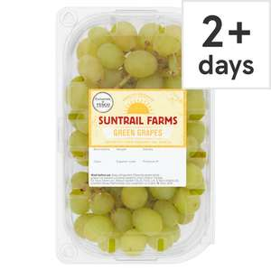 Green Grapes 400G 69p / Salad Tomatoes 6 Pack 39p / White Potatoes 2.5Kg 95p / Baby Potatoes 1kg 69p/ Radish 39p/ Rhubarb 600g £1.37 @ Tesco