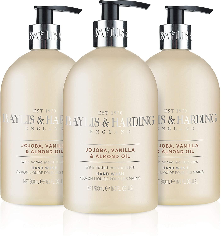3 X Baylis & Harding Jojoba/Silk/Almond Oil £4.50 Prime / £8.99 Non Prime @ Amazon