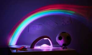 Illuminative LED Rainbow Projector Night Light £8.49 Delivered Using code @ Groupon